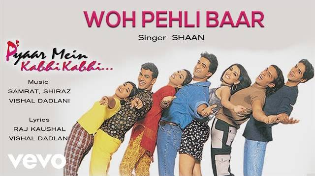 woh pehli baar jab hum mile lyrics