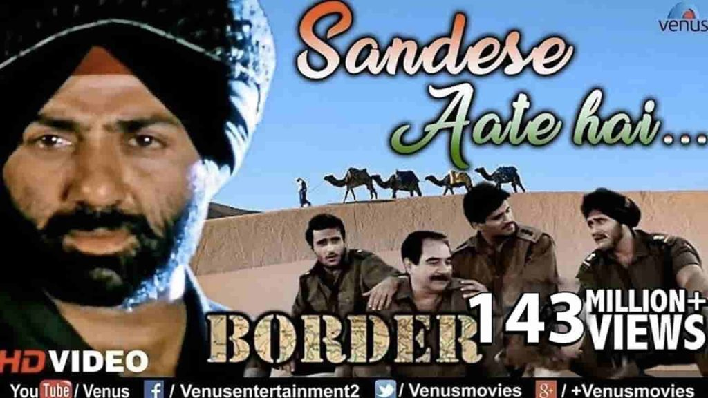 SANDESE AATE HAIN LYRICS - BORDER