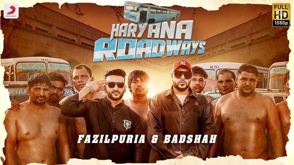 HARYANA ROADWAYS LYRICS – BADSHAH X FAZILPURIA