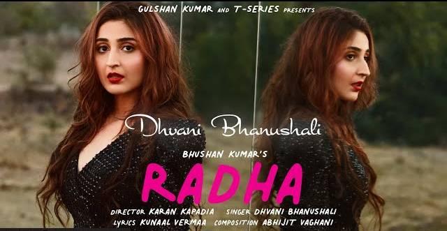 RADHA LYRICS - Dhvani Bhanushali