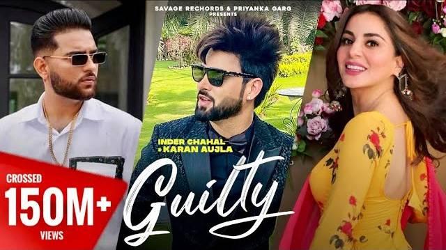 GUILTY LYRICS - Karan Aujla & Inder Chahal